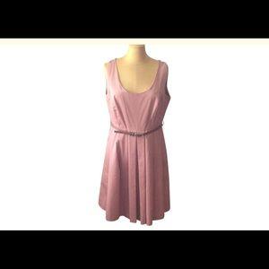 Zara Swing mid-length dress